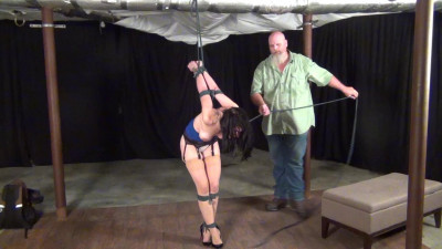 Raven Eve: Manhandled until she Submits to Bondage Pt 2